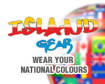 Islandgear - wear your national colours.