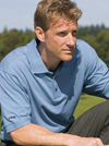 Mens  Basic Golf Shirt